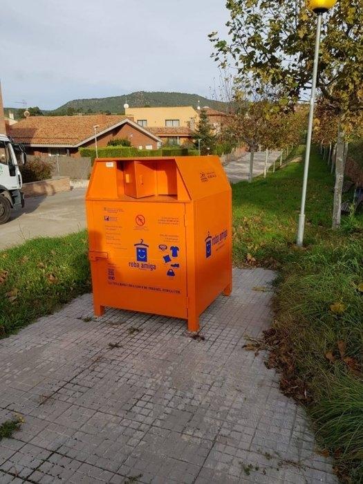 Els contenidors, des d'aquesta setmana a la via pública