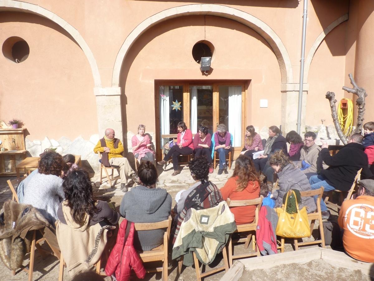 Imatge d'ahir a les portes obertes de l'Ametller a Copons