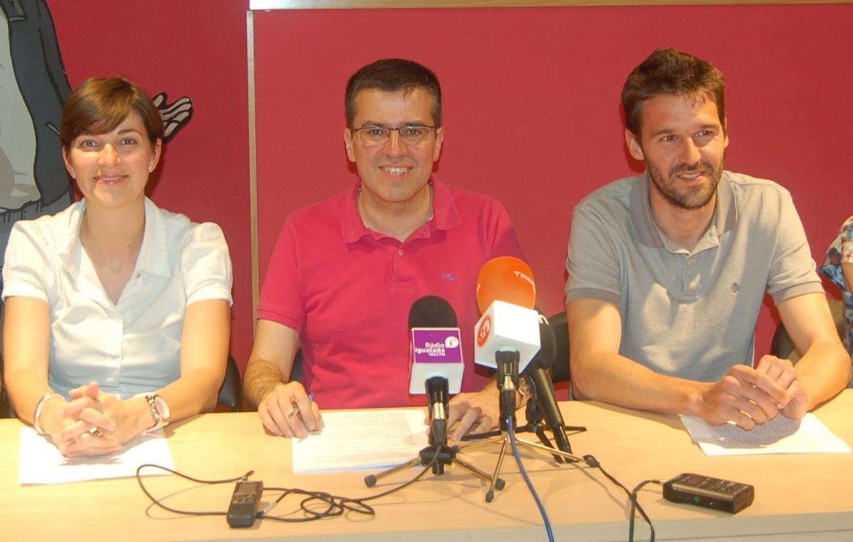 Carolina Telechea, Josep Maria Palau i Enric Conill