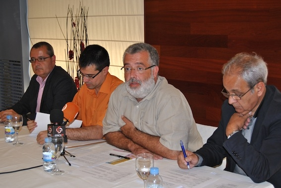 Jordi Calpe, Josep Maria Palau, Xavier Boquete i Jaume Guixà