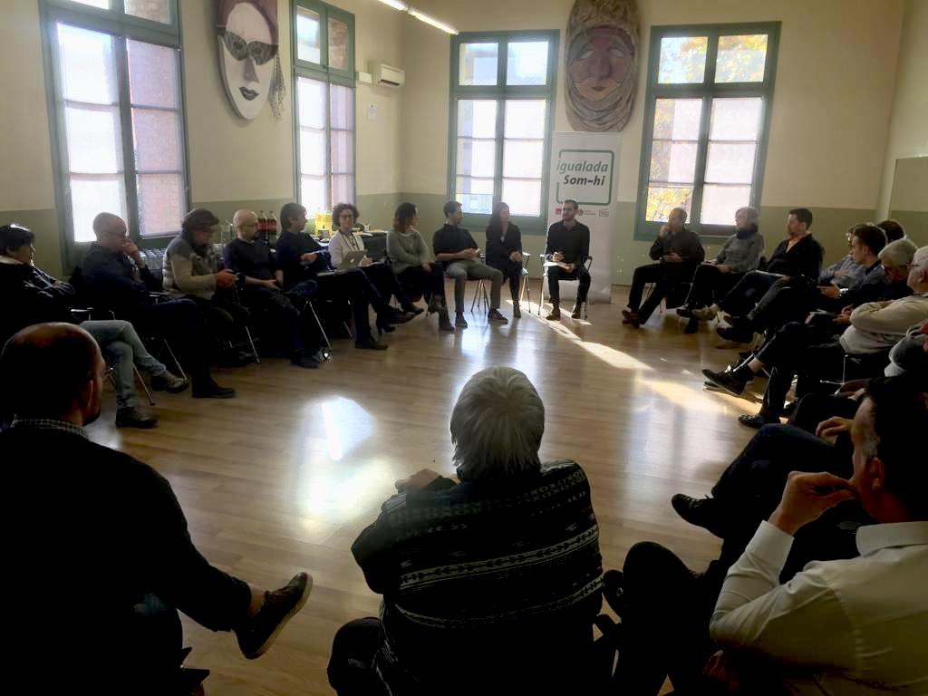 Igualada Som-hi, a la trobada a l'Ateneu