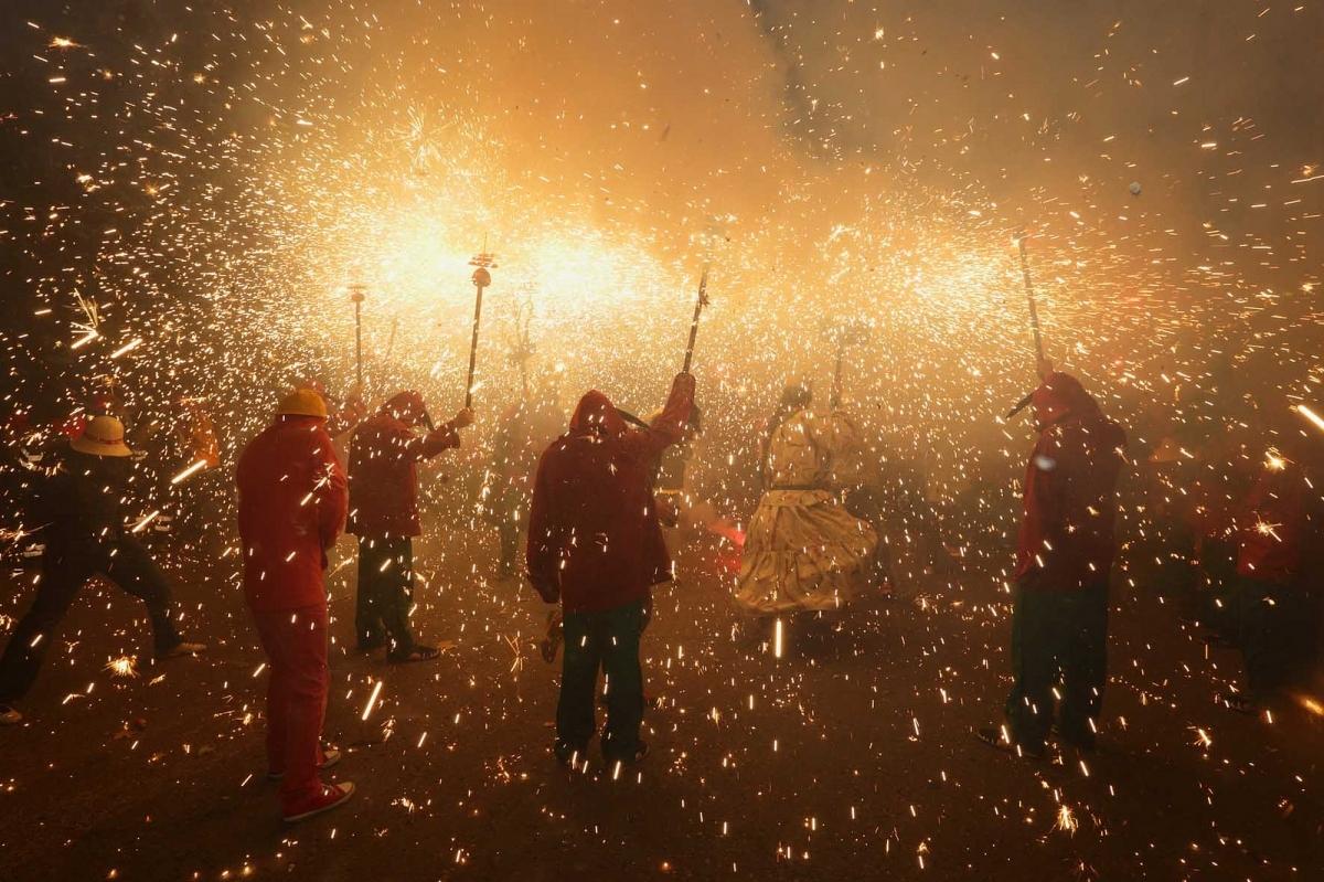 El Correfoc de 2012 FOTO: Ajt. Igualada
