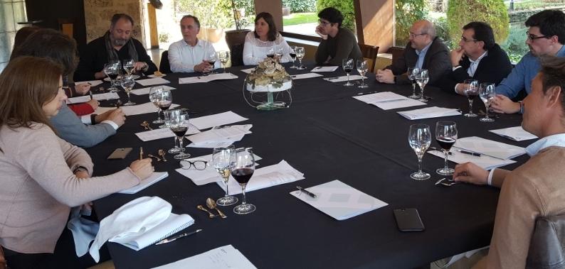 La trobada dels membres de la sectorial immobiliària