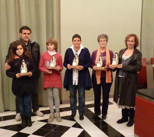Els guanyadors de les diverses categories