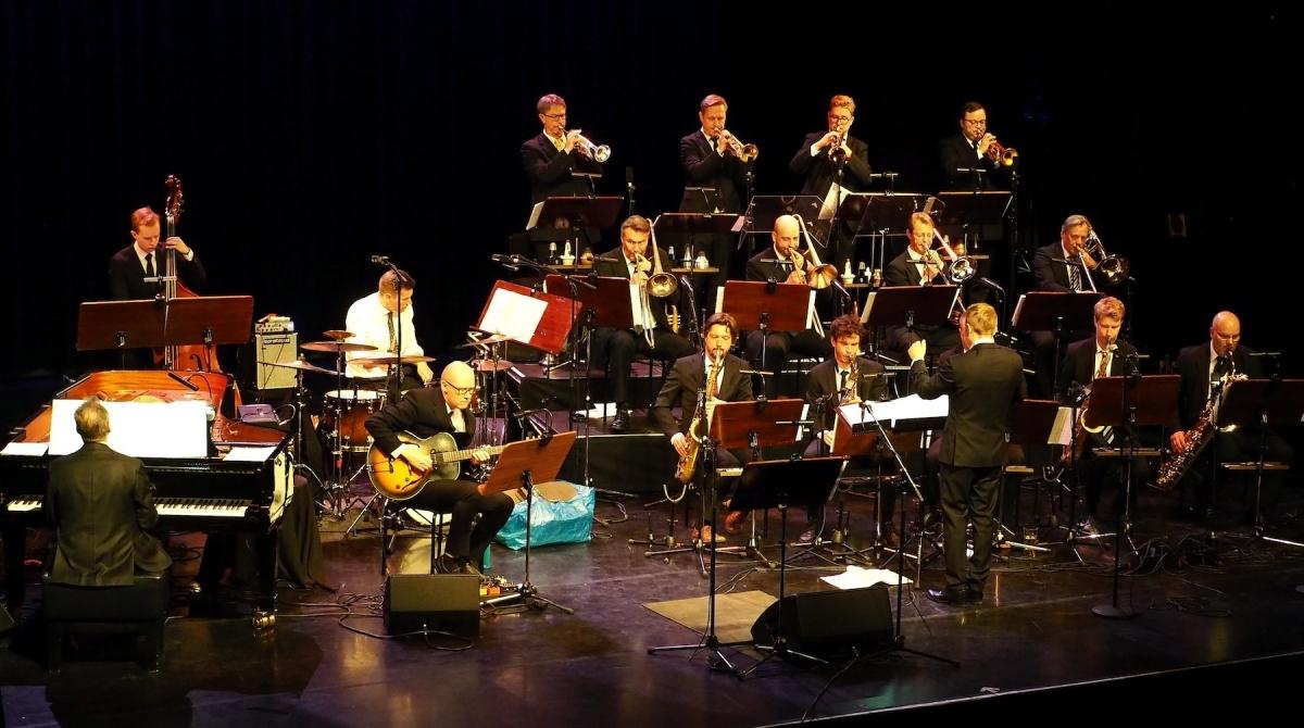 La UMO Jazz Orchestra de Hèlsinki va interpretar les obres finalistes (Foto Olli Nurmi)