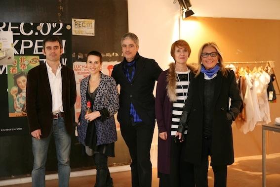 Jordi Ribaudí, Míriam Ponsa, Josep Abril, Aurora Segura i Sita Murt, alguns dels membres del jurat (Foto de Marc Vila)