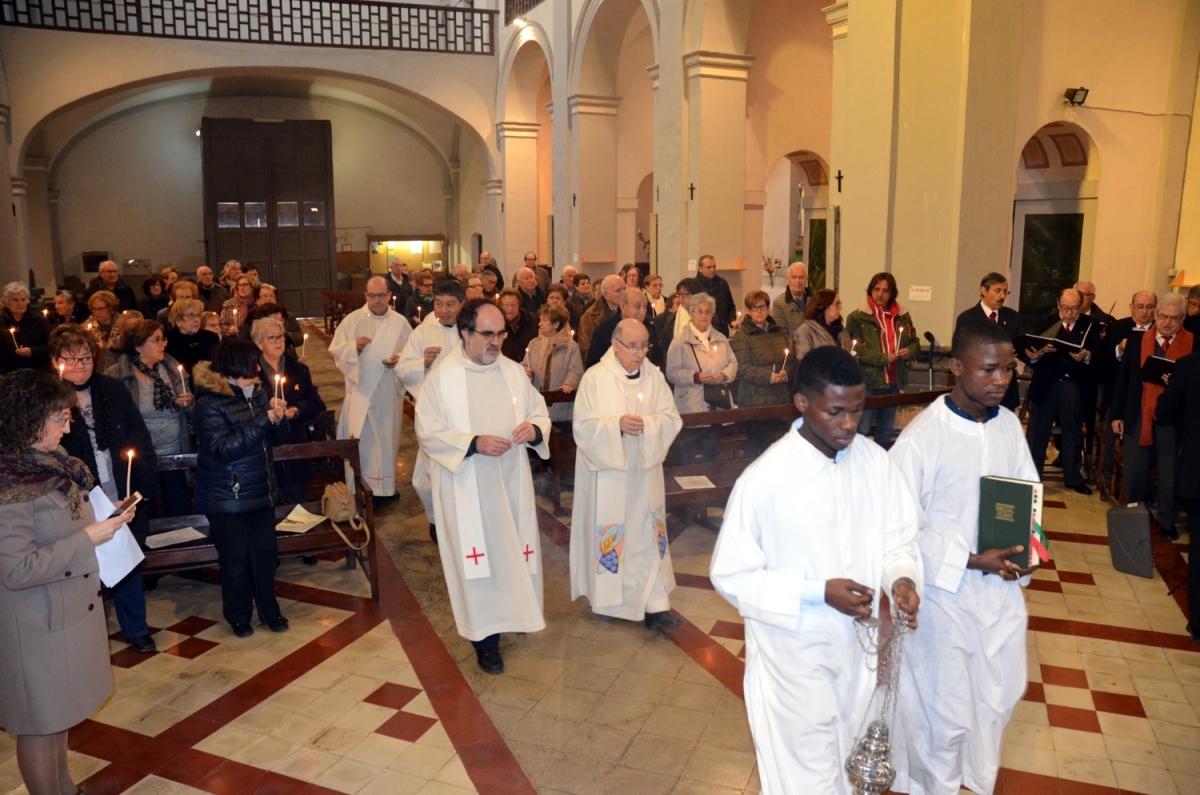 La Missa en honor a la Candelera