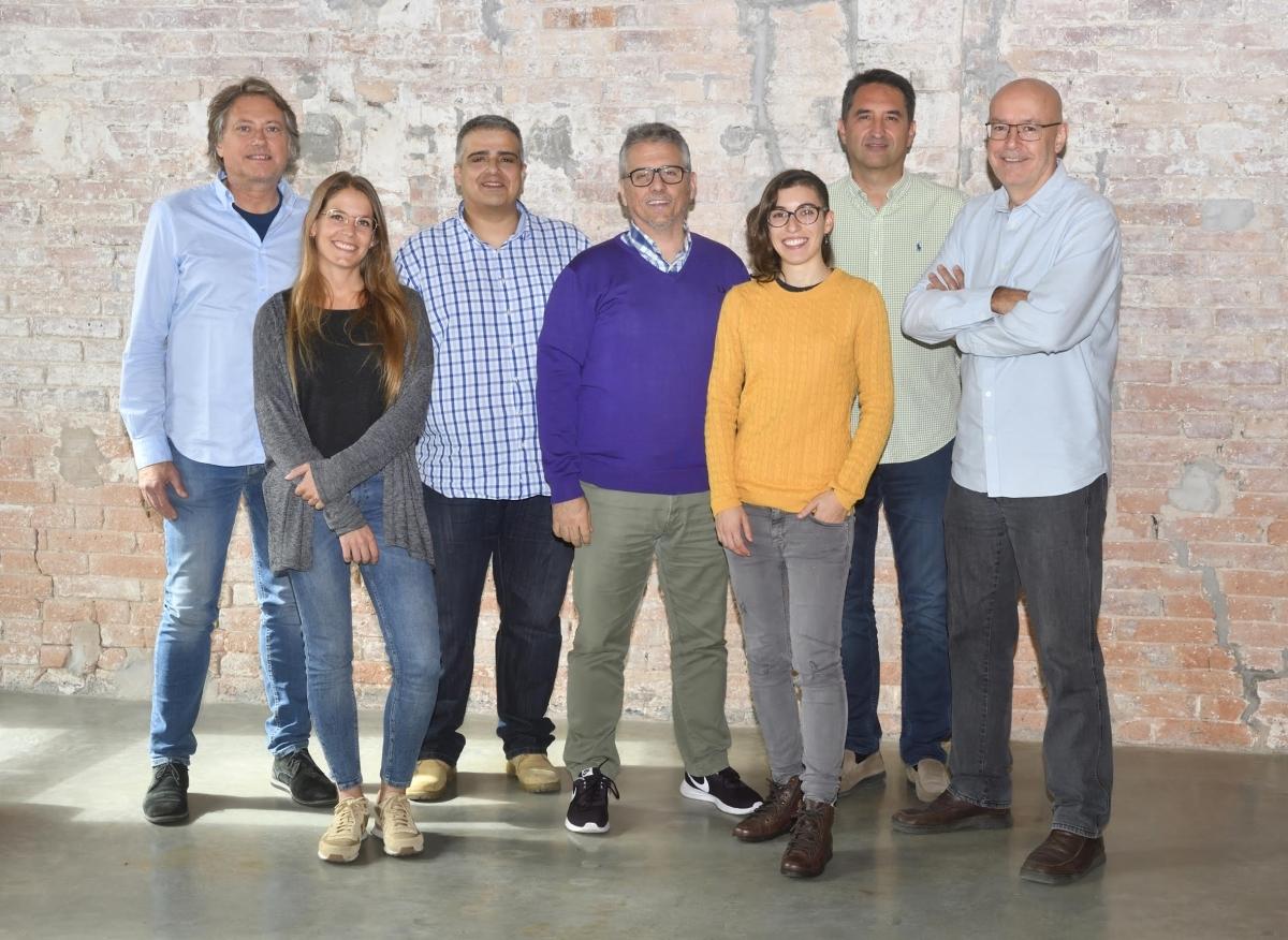 L'equip d'EVVO, en una imatge recent