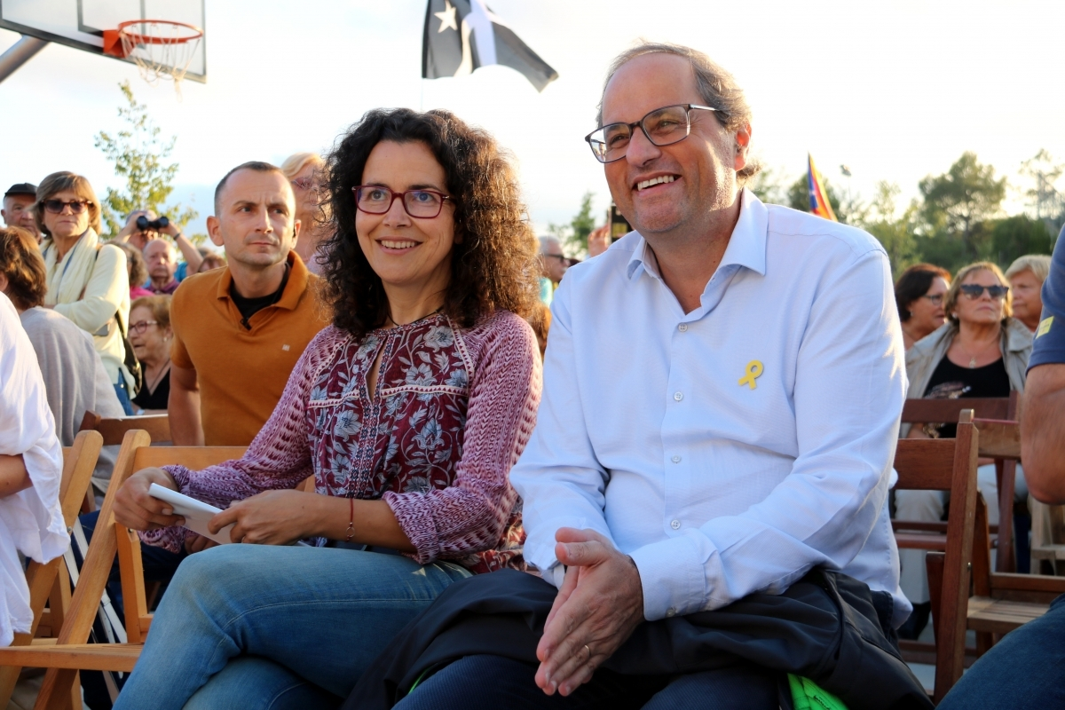 Ortuño i Torra, al Bruc FOTO: ACN