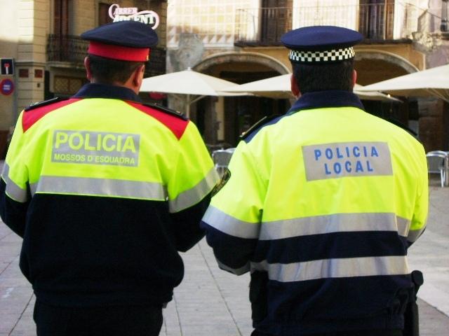Mossos i policia local, pla de seguretat nadalenc coordinat