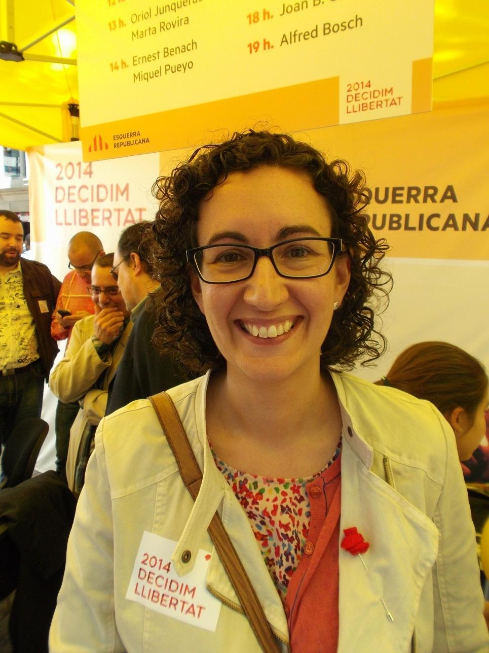 Marta Rovira, en una imatge d'arxiu