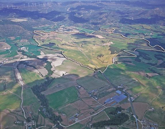 Terreny previst pel projecte, a la web del Consorci, on s'inclou Can Morera