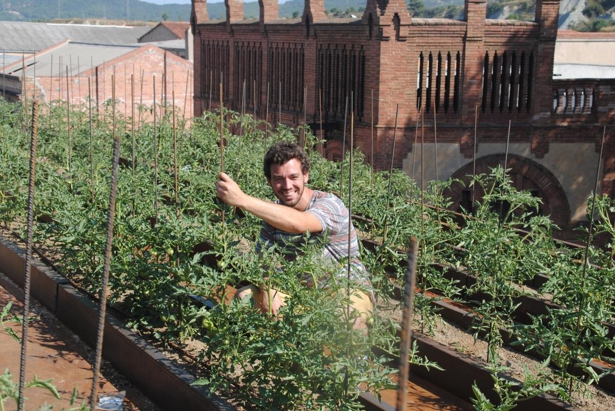 Xavier Andrés, entre les tomaqueres