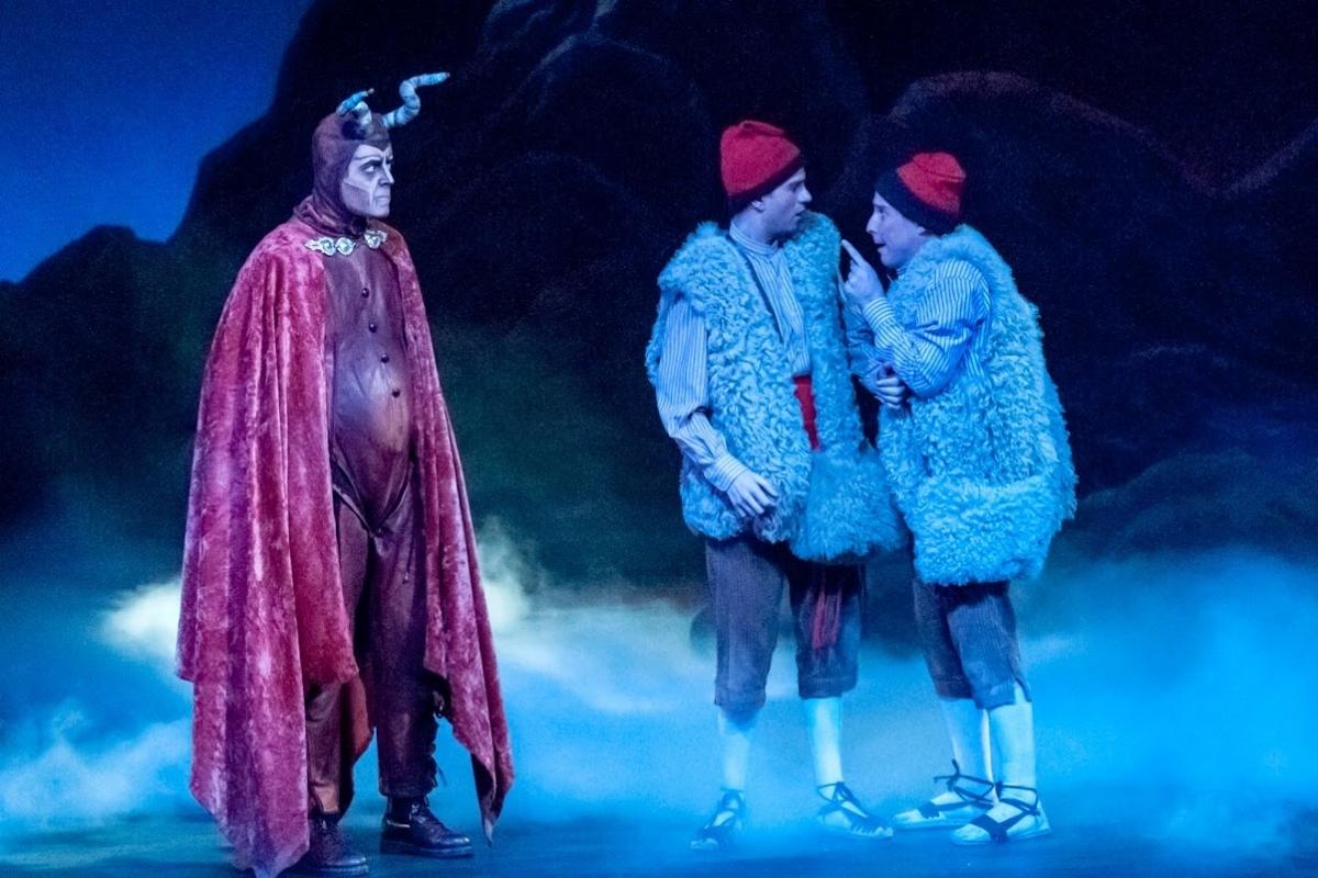 Els Pastorets calafins, una representació de les més reconegudes de l'obra de Folch i Torres