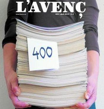 L'Avenç arriba als 400 exemplars.