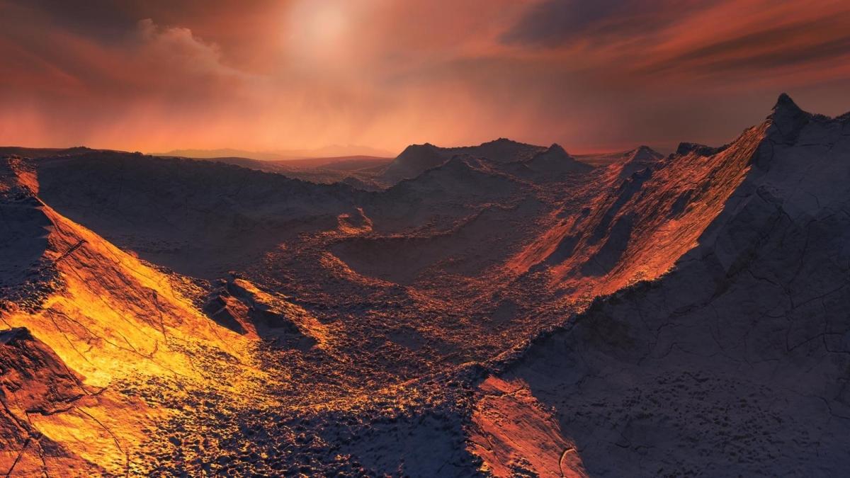 Una simulació de la superfície de Barnard B