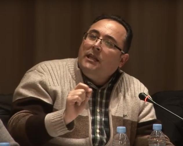 El regidor Cividanes, al ple de dilluns IMATGE: Ràdio Nova