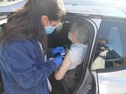 Un dels punts de vacunació de l'ICS de la Catalunya Central