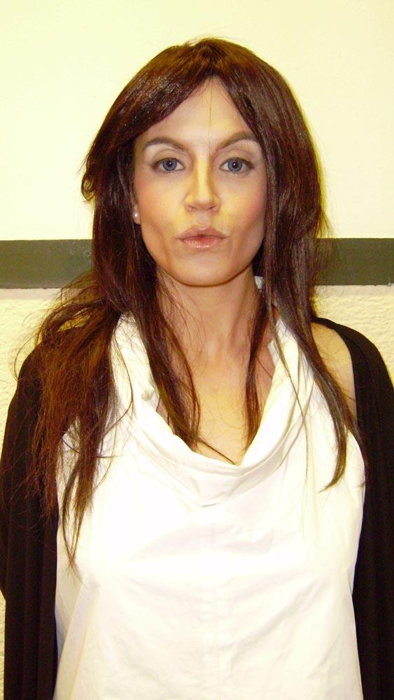 Agnès Busquets caracteritzada