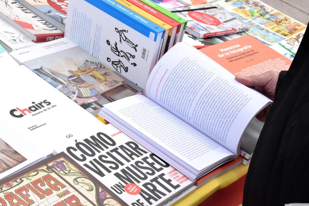 El llibre, protagonista absolut de Sant Jordi