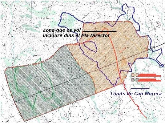 La previsió del Pla Territorial Parcial de les Comarques Centrals i l'ampliació al·legada pel Consorci de la Zona Franca