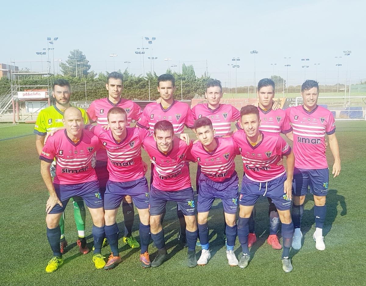L'onze inicial igualadí a Tarragona