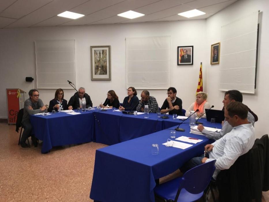 La sessió plenària d'octubre a Calaf, celebrada aquest dilluns a la tarda