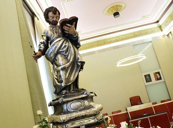 Reproducció de Sant Bartomeu. Foto: Aj. Igd