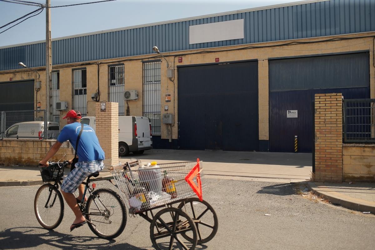 La fàbrica Magrudis de Sevilla, on es va detectar l'origen del brot de listèria FOTO: ACN