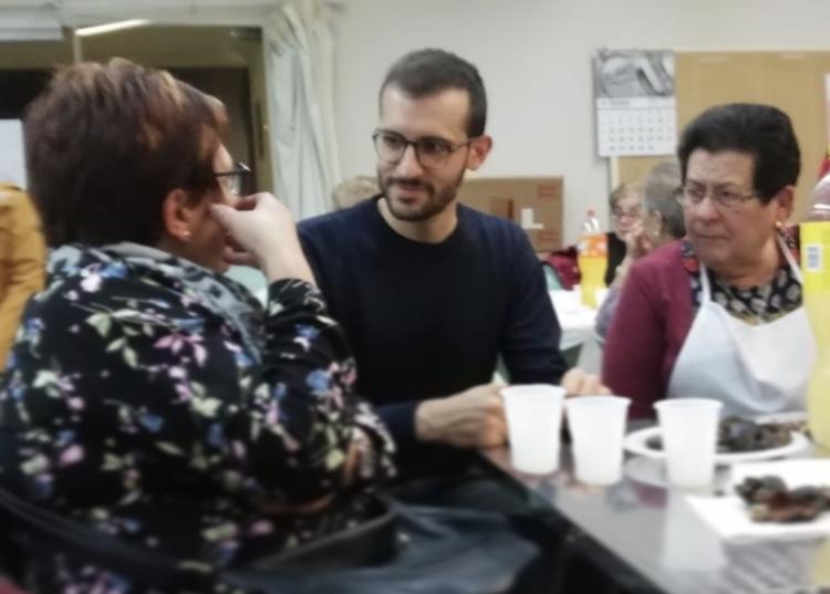 Una de les trobades de Cuadras, al llarg d'aquest mes