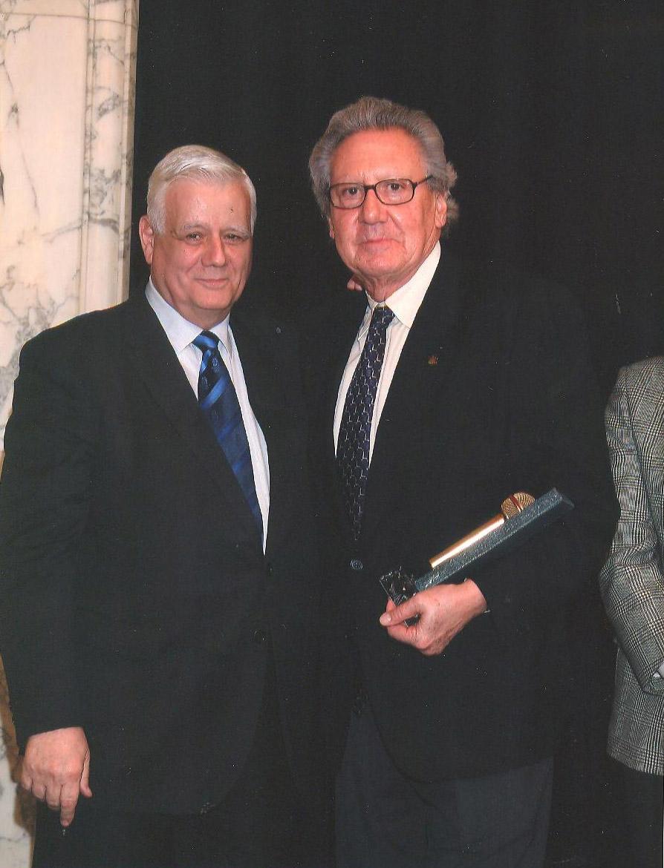 Joan Armengol amb el premi