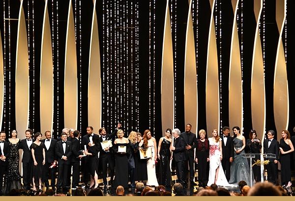 Els guardonats a Cannes