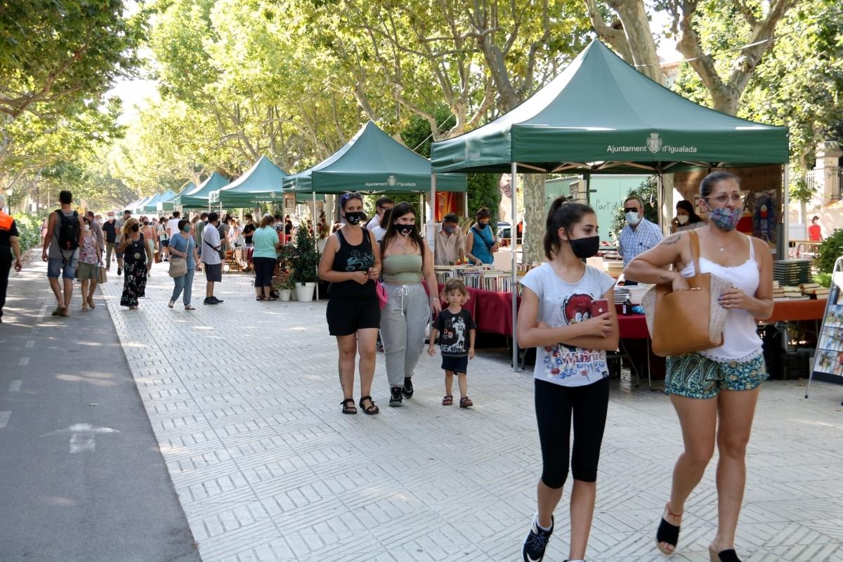 El Passeig Verdaguer, dijous a la tarda FOTO: Mar Martí