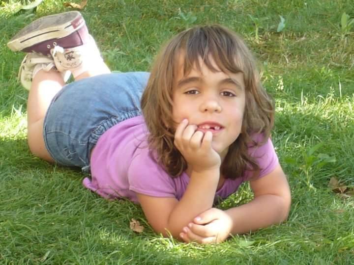 Una imatge de la petita Clàudia FOTO: Arxiu familiar