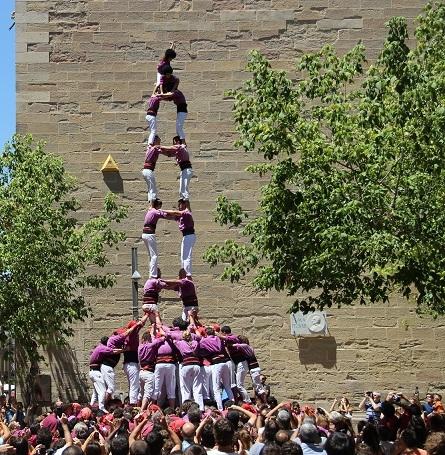 Primera torre de vuit amb folre dels Moixiganguers