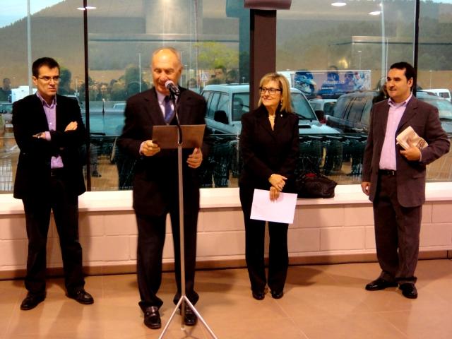 Josep Maria Palau, alcalde de Jorba,