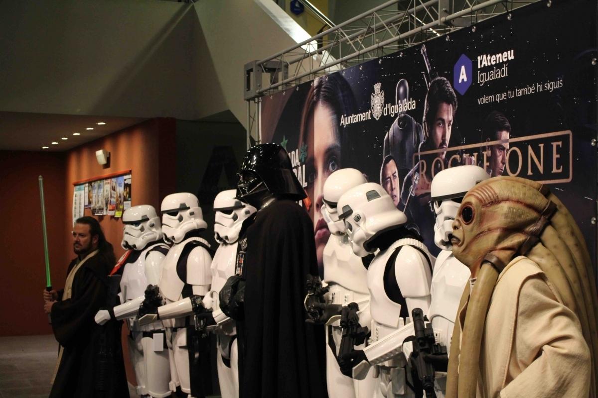 A l'esdeveniment també s'hi van presenciar personatges de la mítica saga de ficció Star Wars.