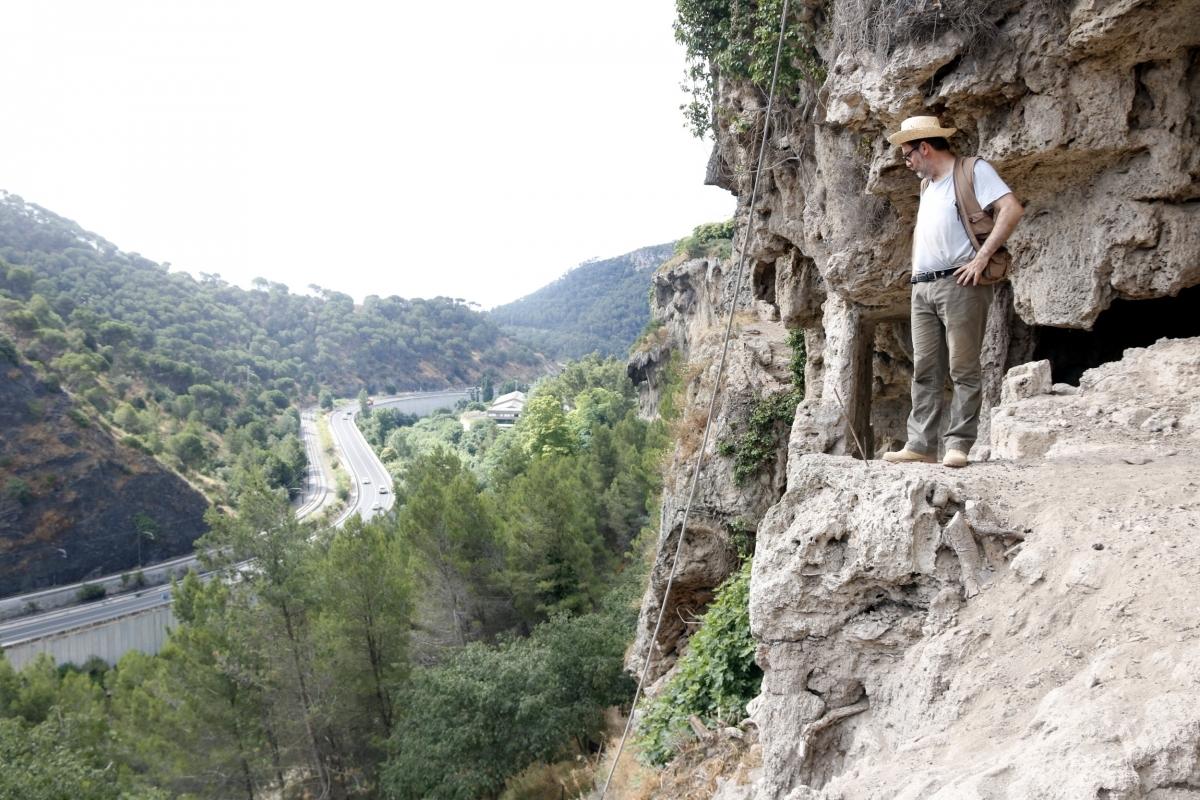Manuel Vaquero, cap de l'excavació FOTO: ACN