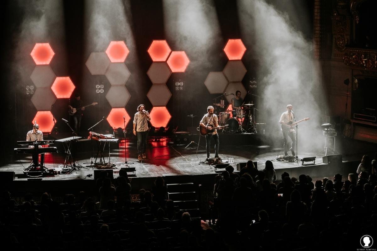 El quartet barceloní, en un concert