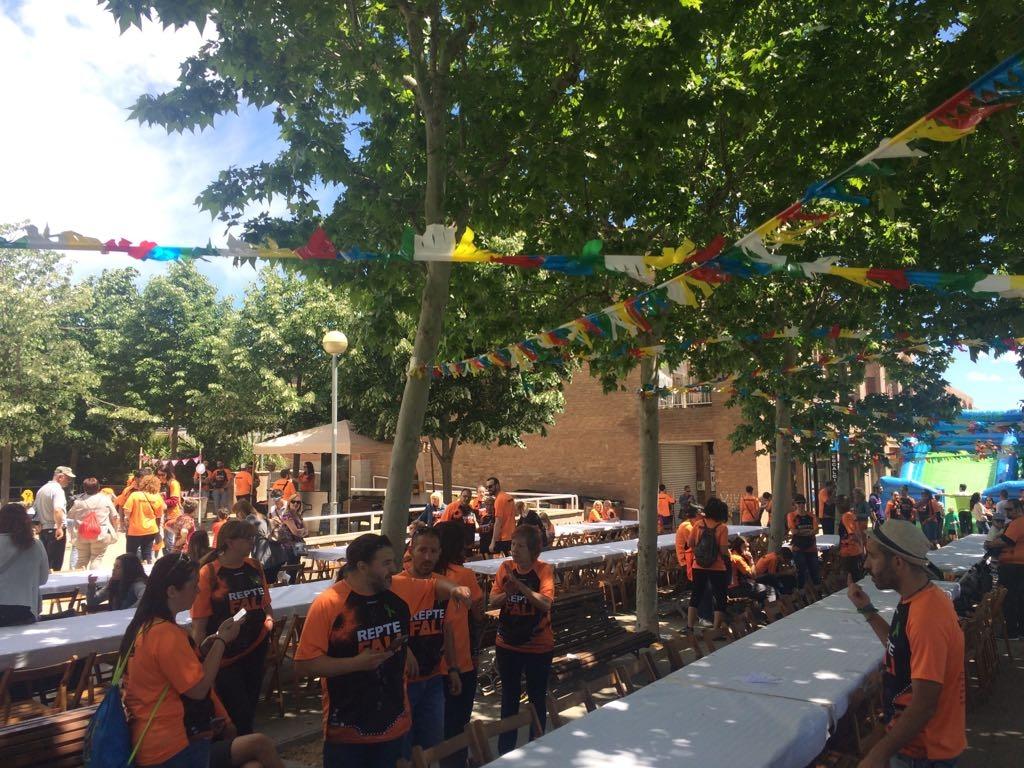 El dinar ha estat una gran festa per familiars i amics d'Alonso.