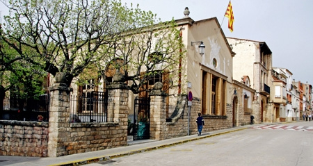 El Casal Català, al centre dels Hostalets