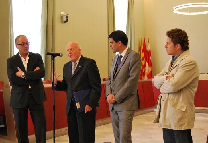 Jordi Riba a l'Ajuntament