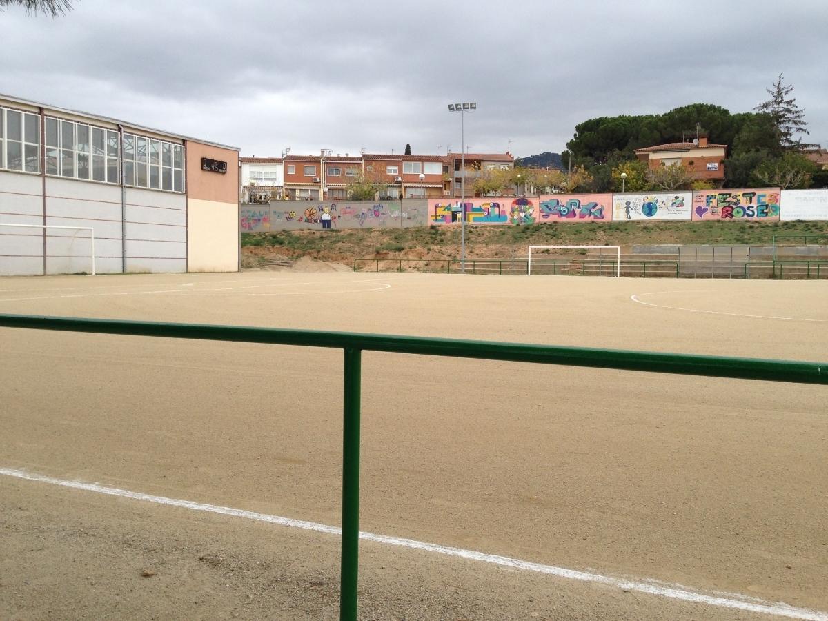 Els terrenys destinats a la construcció del nou institut