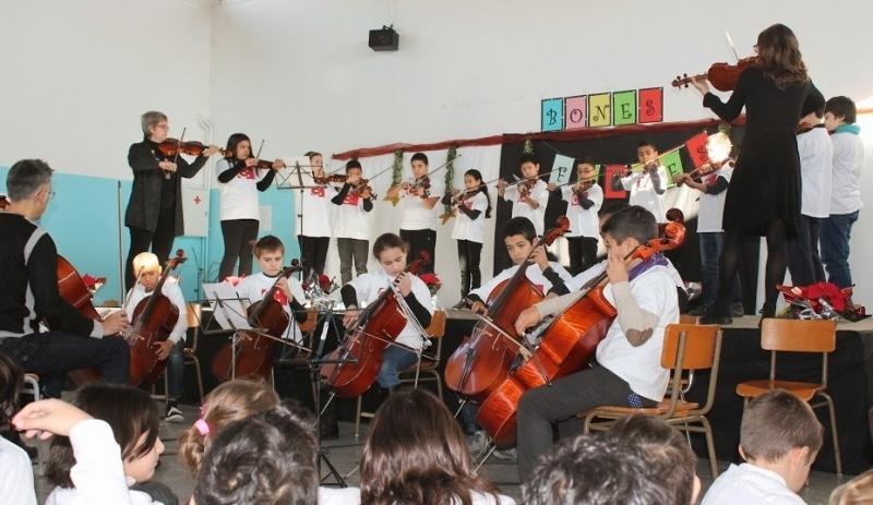 El projecte musical del Gabriel Castellà, una de les escoles públiques d'Igualada