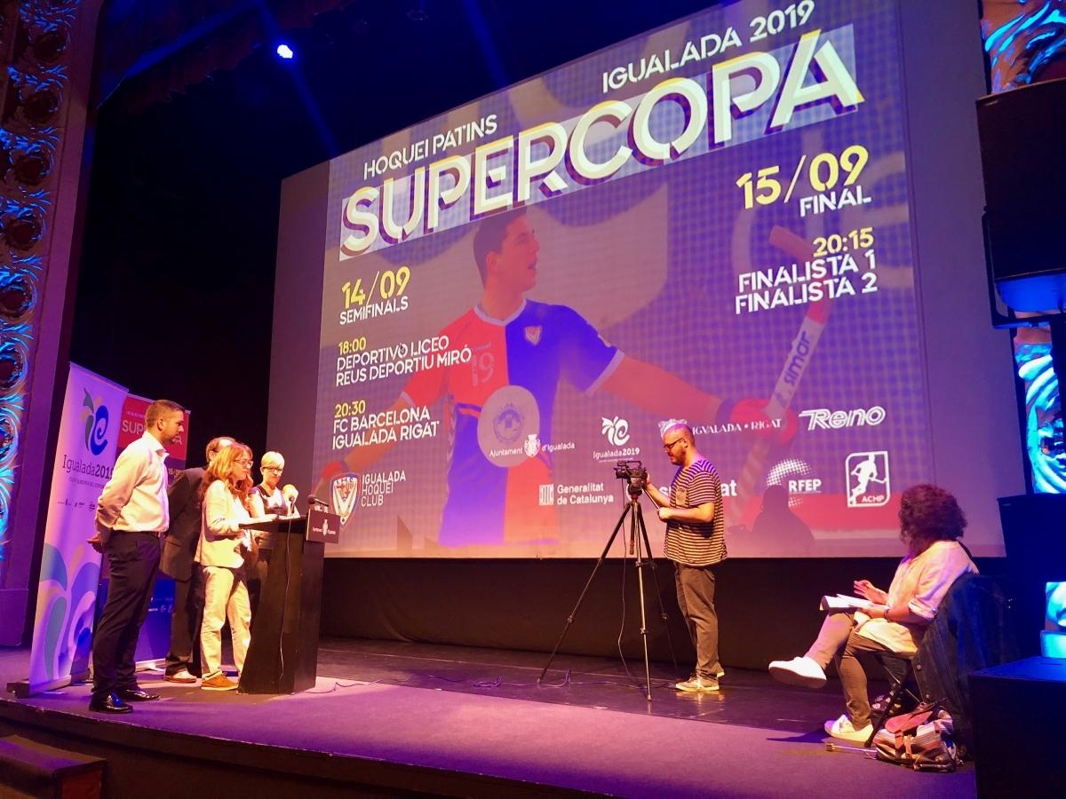 La Supercopa, presentada aquest dimarts a l'Ateneu