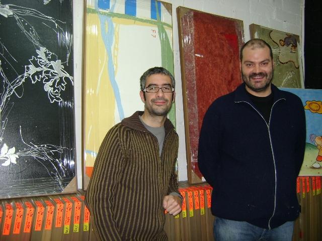Miquel Claramunt i Jordi Sanahuja