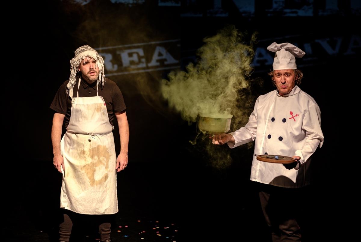 Cascai Teatre, en un espectacle enginyós i farcit de gags