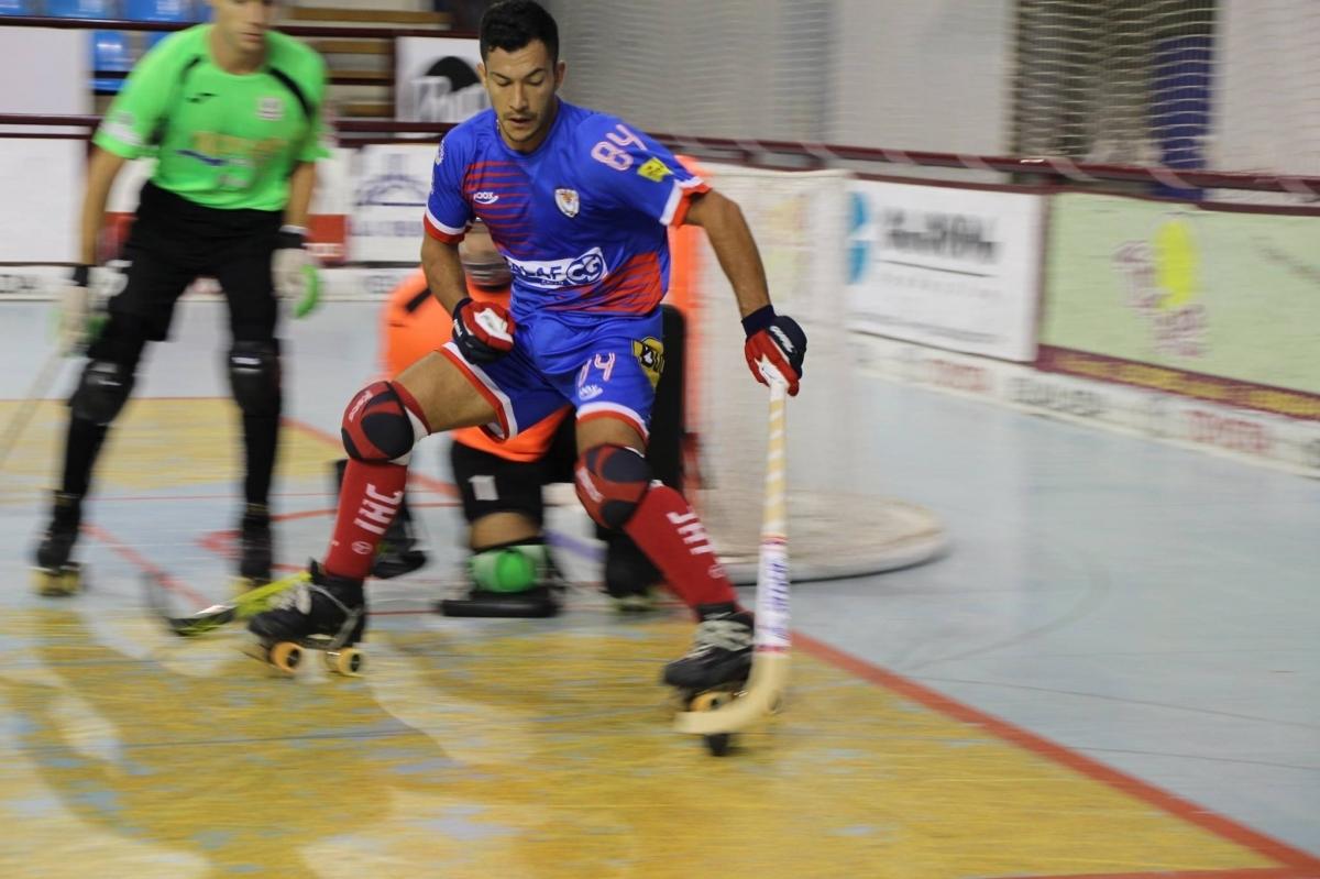 L'arlequinat Emmanuel Garcia va signar dos dels quatre gols de dissabte.