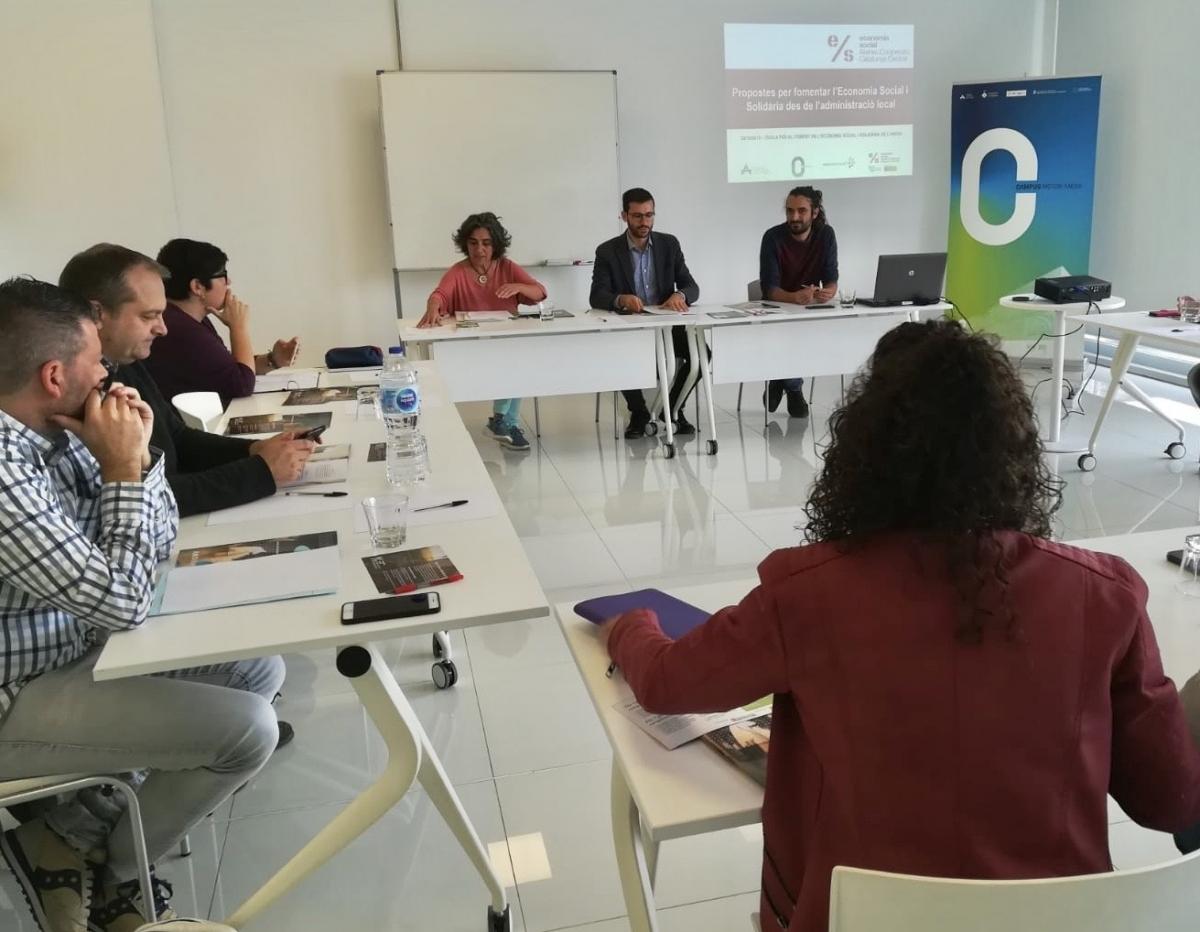 La Taula es va celebrar al Campus Motor de Castellolí