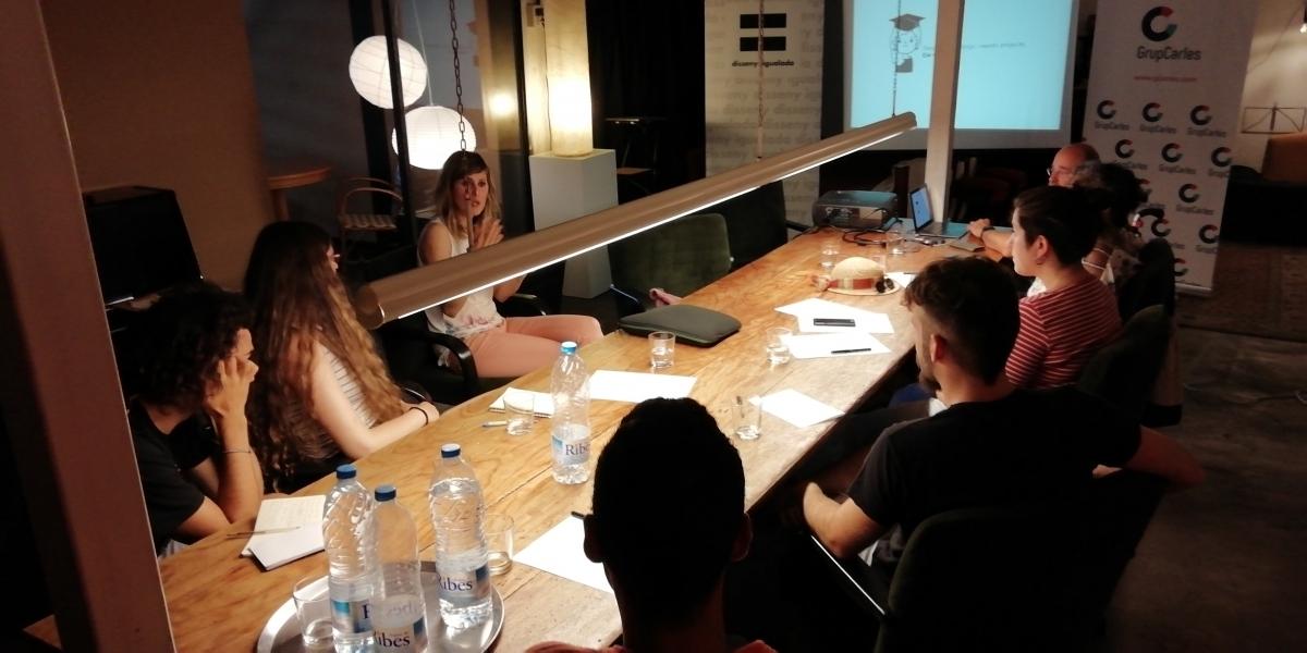 La sessió es va fer al Barri de Xauxa i a l'Adoberia Bella